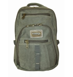 Tosca Canvas Laptop Backpack - 15""