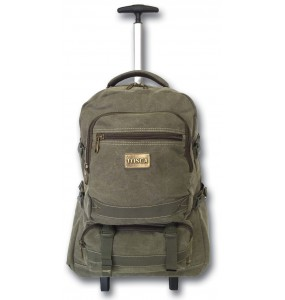 Tosca Canvas Laptop Trolley 17""