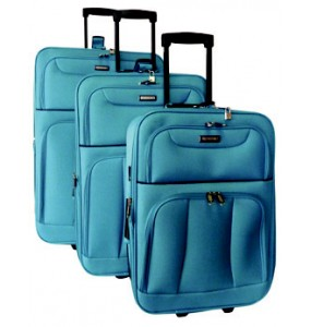 Elegant Vogue 3 Piece Trolley Set