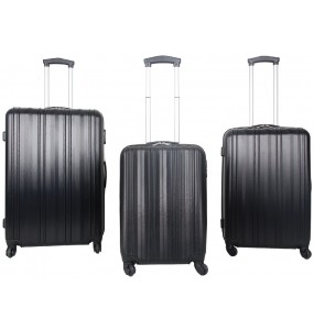 Elegant 3 Piece ABS Trolley Cases