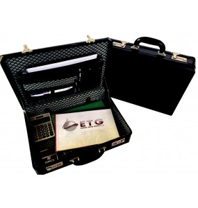 PVC Executive Attaché Case (Expandable) - With Combo Locks