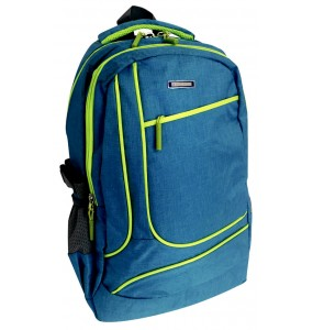 Ediscon Sport 200D Twill Neon Trim Backpack