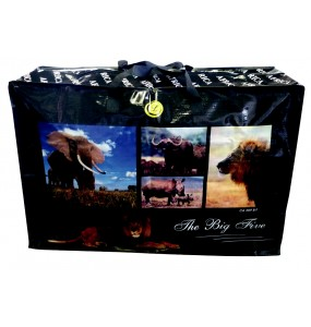 Heavy Duty Africa Shopper Bags - Small (Big Five)