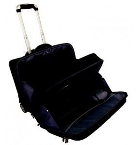 Laptop Trolley Briefcase 2 Divisions -17""