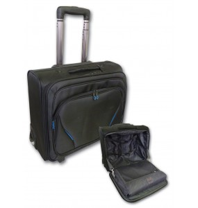 Tosca Elegant Overnight Laptop Trolley -15.6""